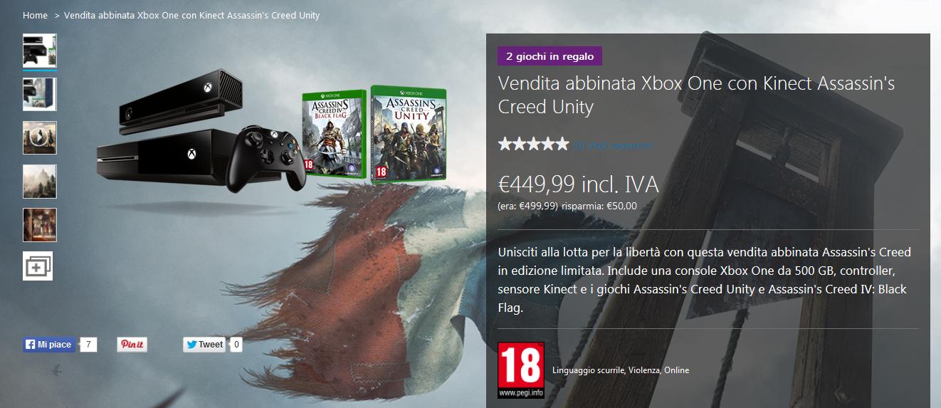 Offerta: Xbox One