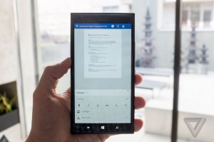 Office per Windows 10 per smartphone