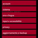 Nuovo layout delle Impostazioni di sistema