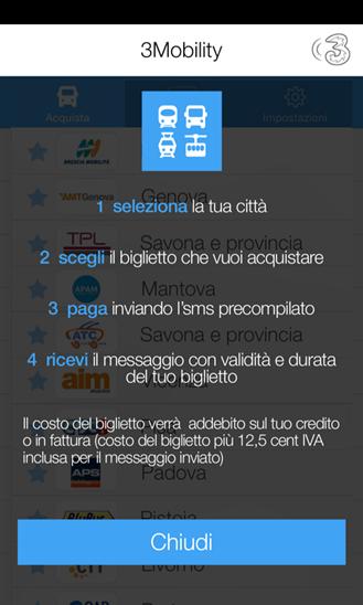 Area clienti 3 per windows phone l 39 app di 3 italia si for Area clienti 3 servizi in abbonamento