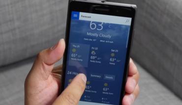 New MSN Weather App