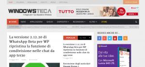 Nuova Windowsteca