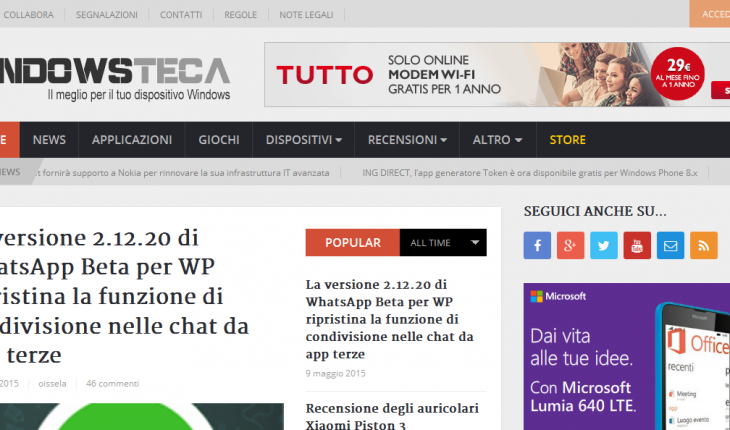Nuova Windowsteca