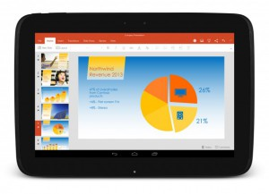 Office su tablet Android