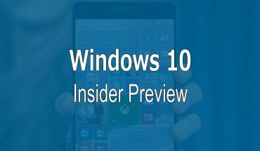Windows 10 Mobile Preview