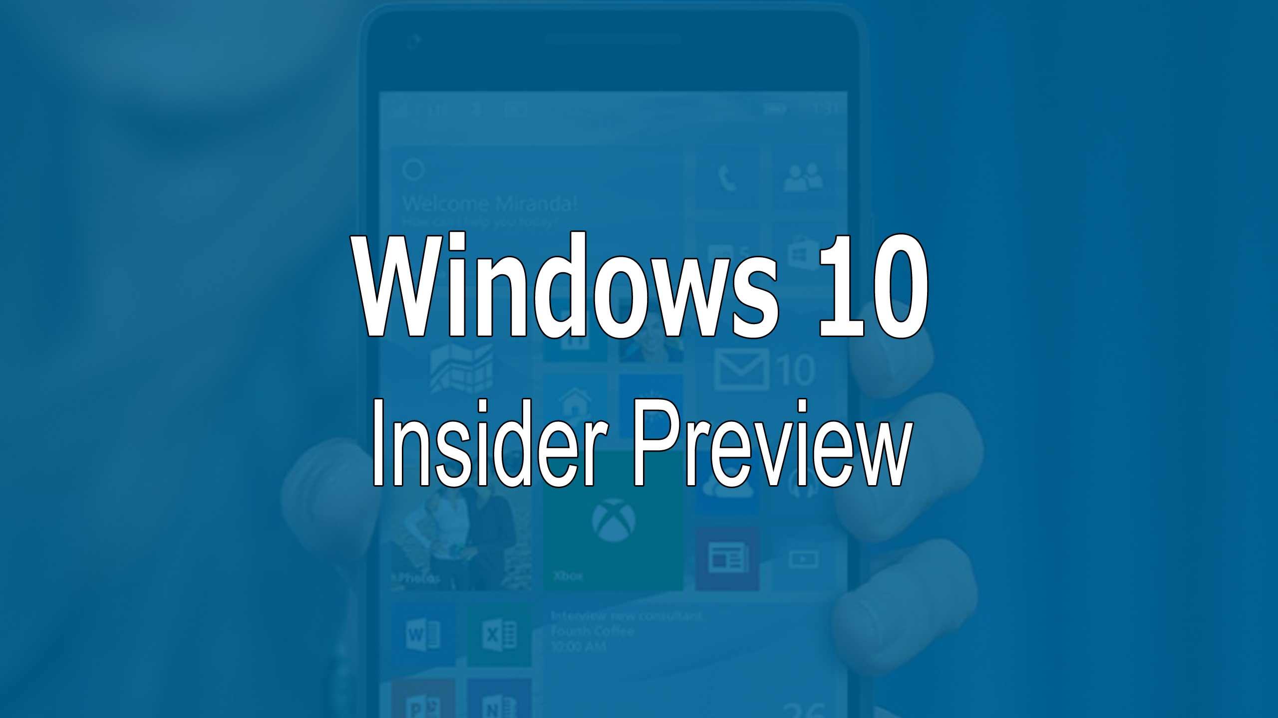 novit e fix della build 10572 di windows 10 mobile preview windowsteca blog. Black Bedroom Furniture Sets. Home Design Ideas