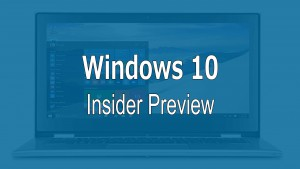 Windows 10 Peview