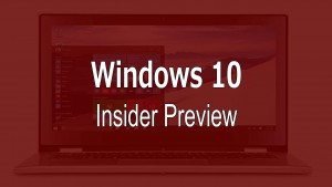 Windows 10 PC Preview