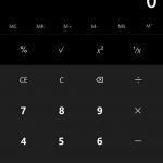 Calcolatrice Windows 10