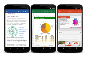Microsoft Office per masrtphone Android