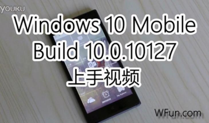 Windows10 Mobile Build 10127