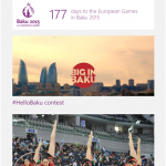 The Official Baku 2015 App