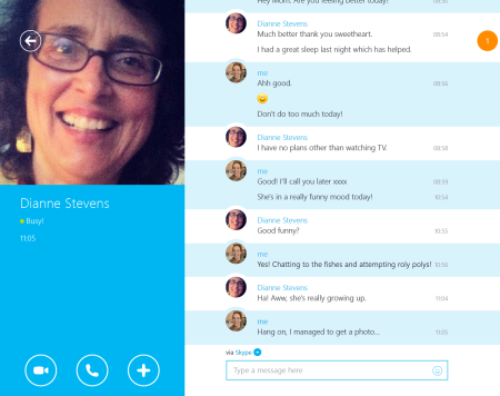 Skype (modern client) per Windows