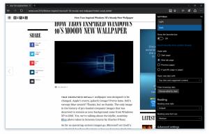 Microsoft Edge con tema Nero