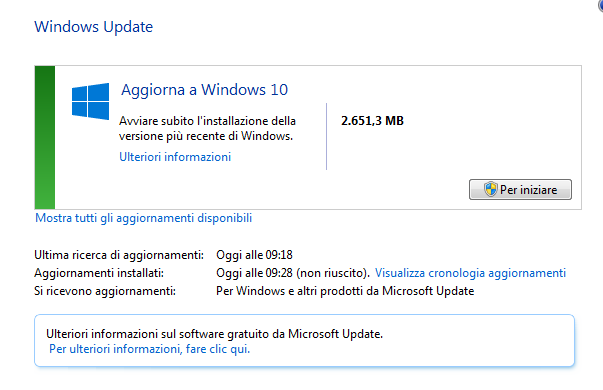 Upgrade a Windows 10