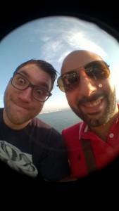 Fisheye 01 - Selfie con lente