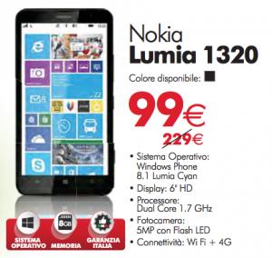 Nokia Lumia 1320 promo
