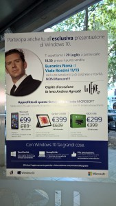 Evento Windows 10 Euronics Roma