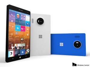 Rendering di Lumia 950 XL