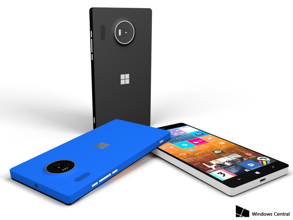Rendering di Lumia 950 XL