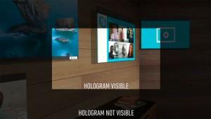Campo di visione con HoloLens