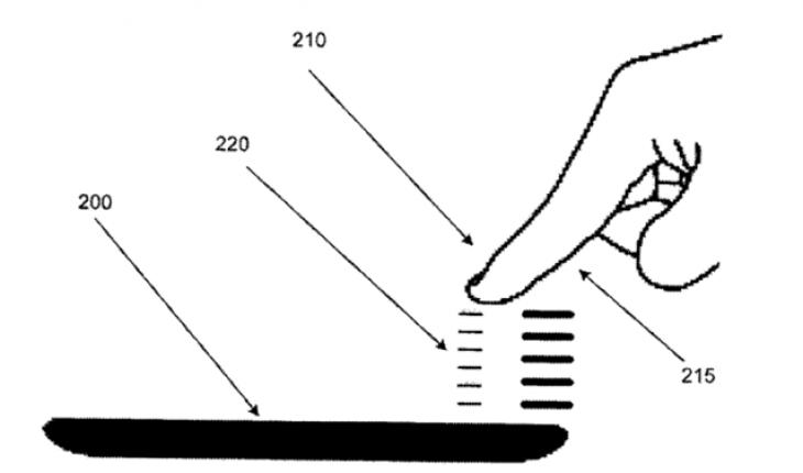 Brevetto Microsoft 3D touch