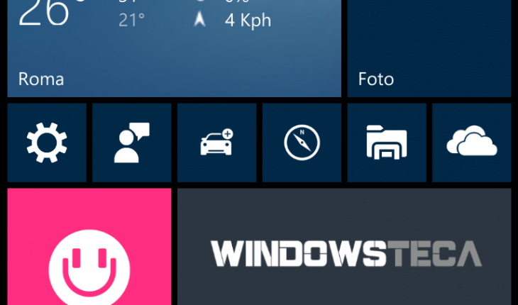 Build 10166 Windows 10 Mobile