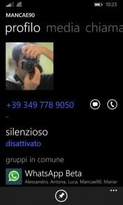 Silenzia contatto