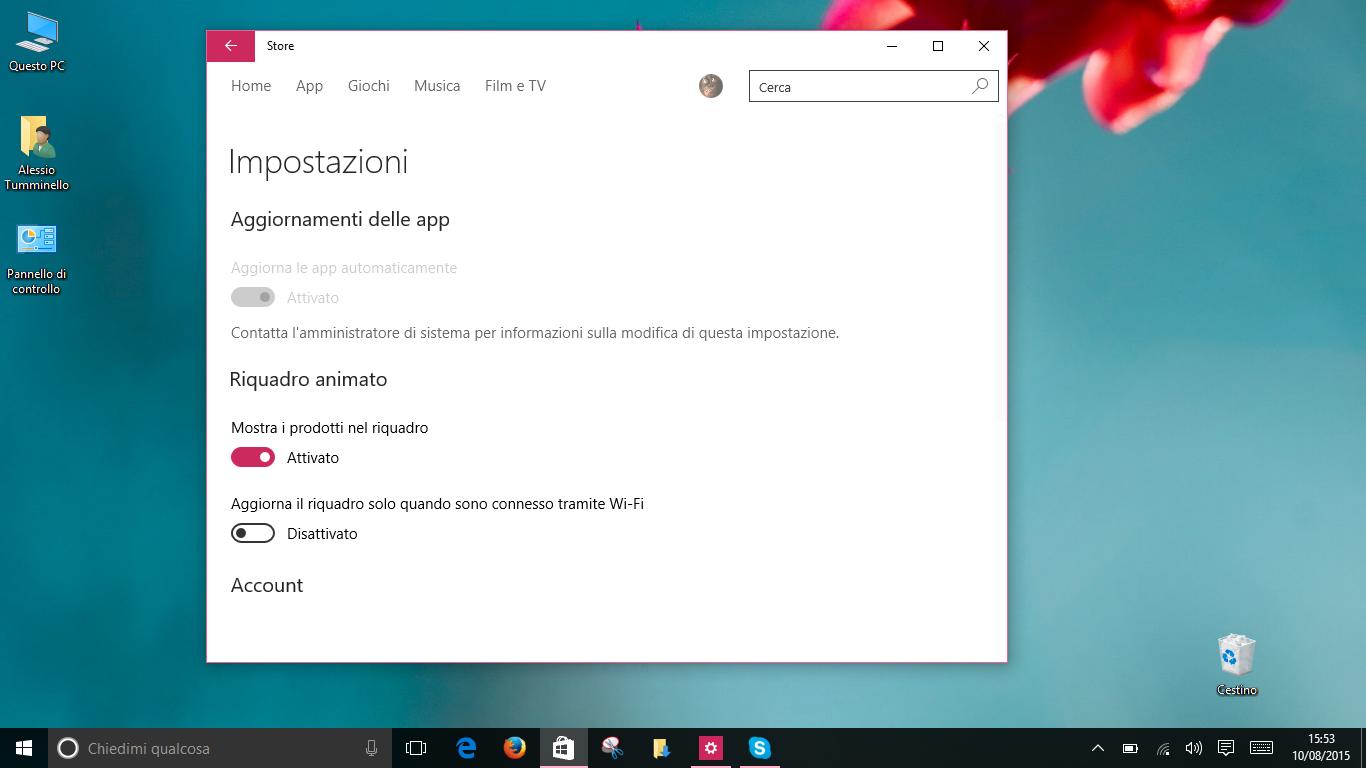 Update App da Windows Store