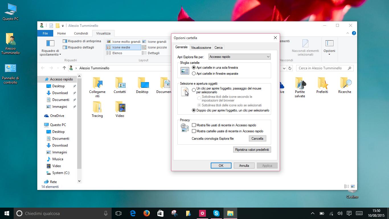Accesso Rapido Windows 10