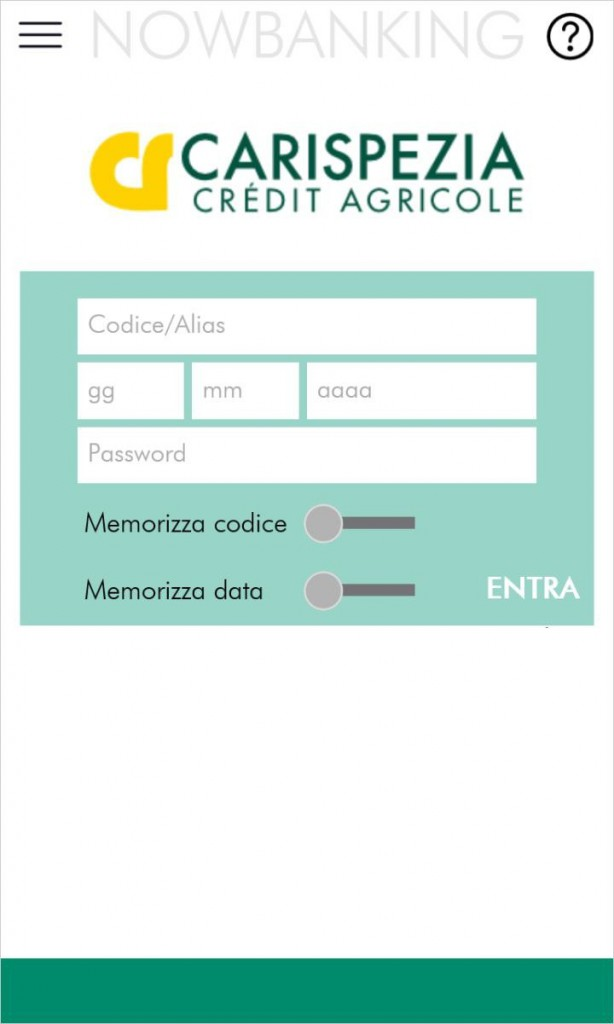 App cariparma nowbanking scarica