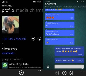 Ultime novità Beta di WhatsApp