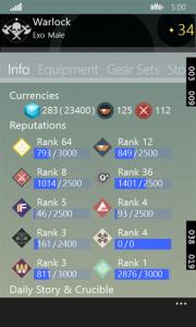 Advanced Destiny Companion