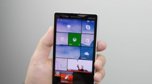 Build 10536 di Windows 10 Mobile Preview