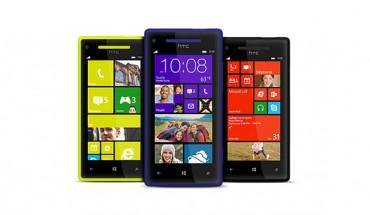 HTC 8S e HTC 8X