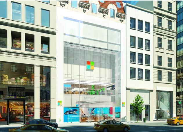 Microsoft Store a New York