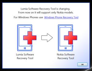 Nokia Software Recovery Tootl