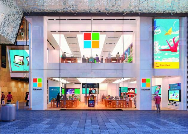 Microsoft Store a Sydney