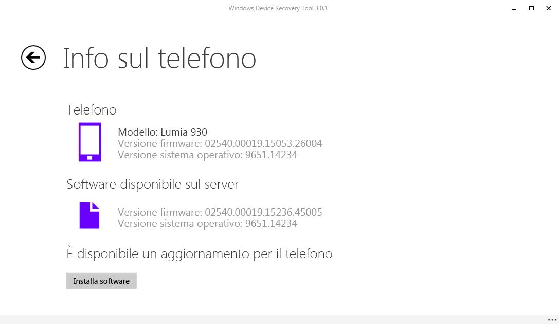 Update 2 di Windows Phone 8.1