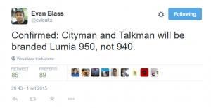 Tweet di evleaks