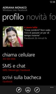 Contatti Windows Phone