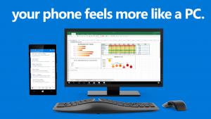 Continuum di Windows 10 Mobile