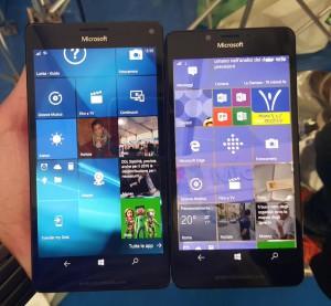 Lumia 950 XL e 950