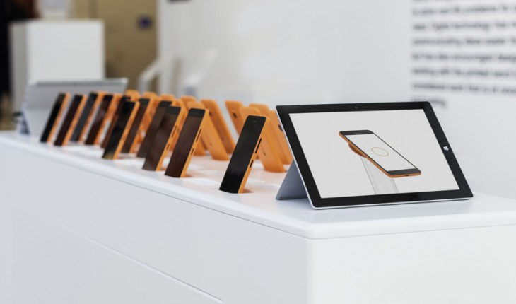 Surface e Lumia 640 XL al Design Museum