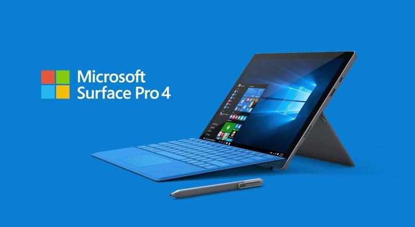 Surface Pro 4, un nuovo firmware update è disponibile al download