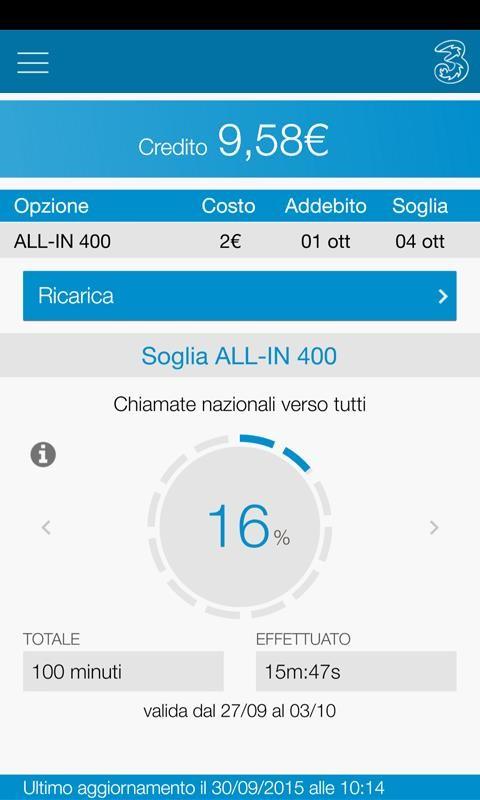 Area clienti 3 per windows phone cambia di nuovo look con for Area clienti 3 servizi in abbonamento