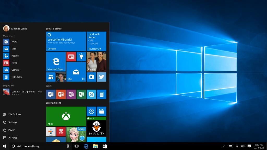 Microsoft: Windows 10 è attivo su 400 milioni di dispositivi