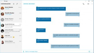 Messaggi e Skype