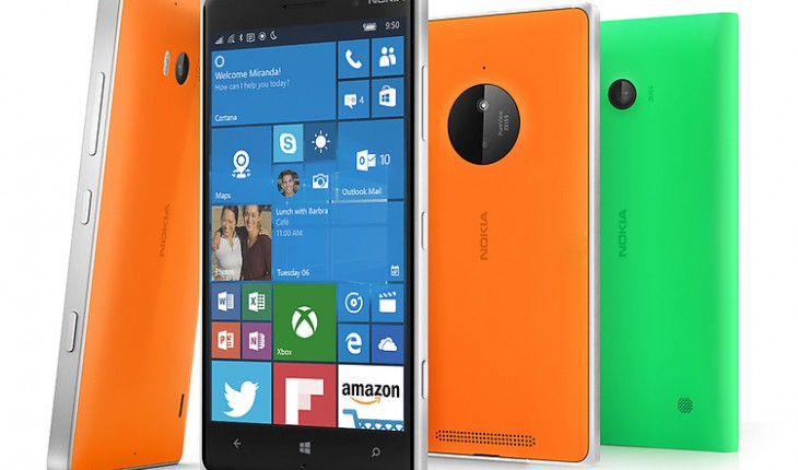 Lumia 930 con Windows 10 Mobile