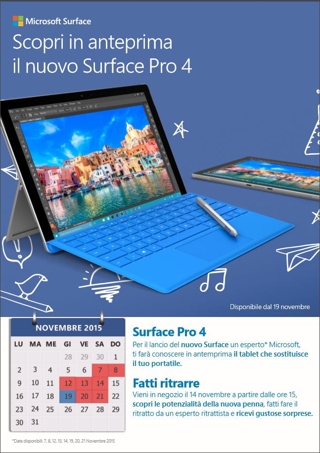 Scopri Surface Pro 4
